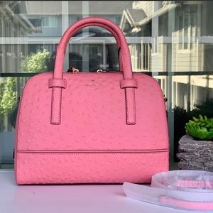 🌺NEW KATE SPADE ♠️ SATCHEL CORAL